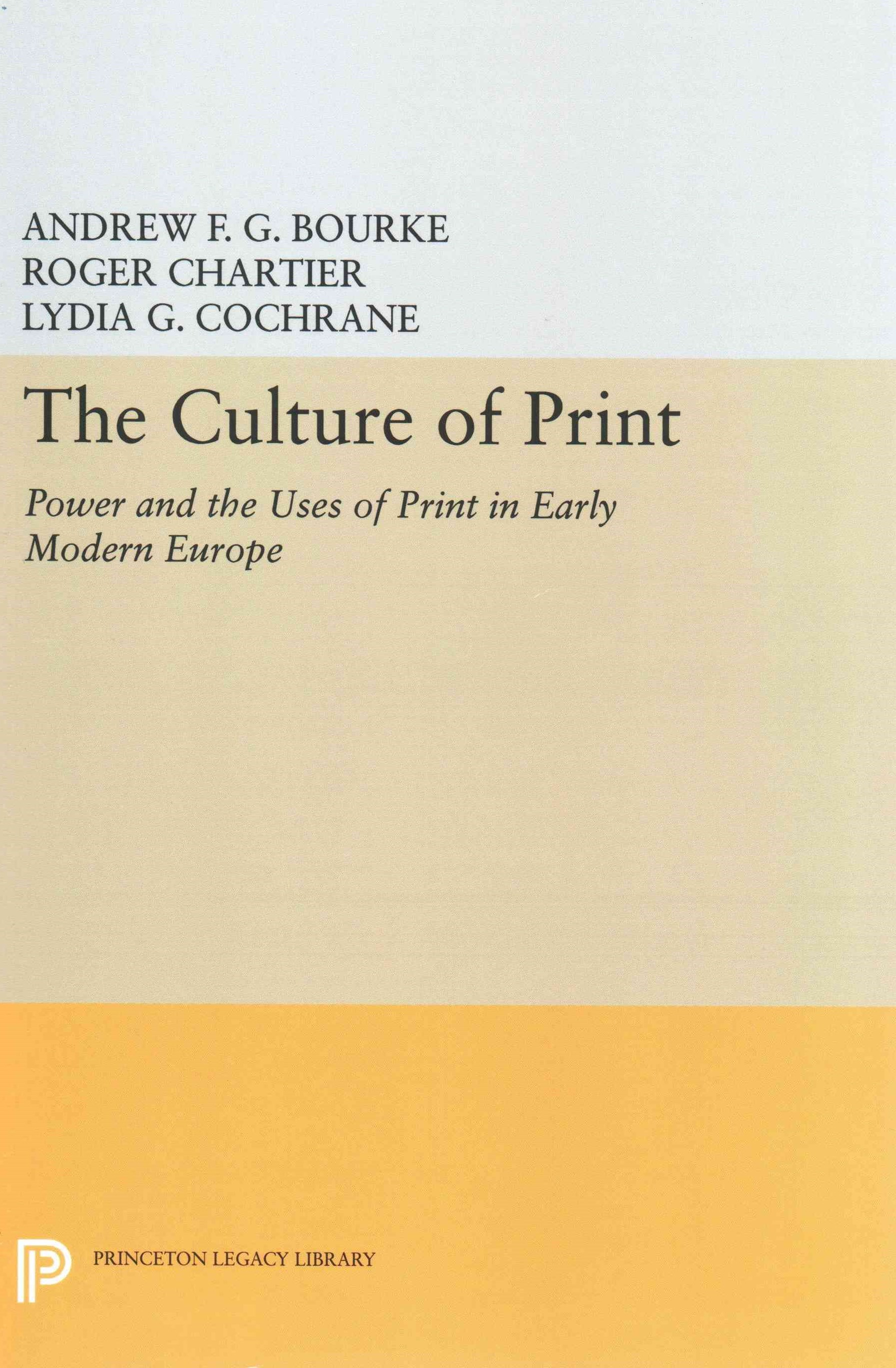 The Culture of Print