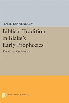 Biblical Tradition in Blake