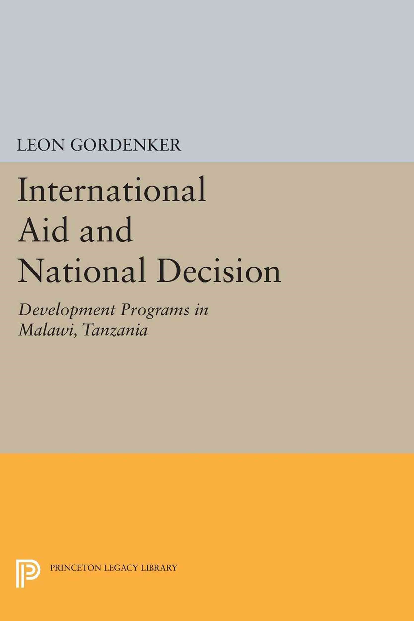 International Aid and National Decision