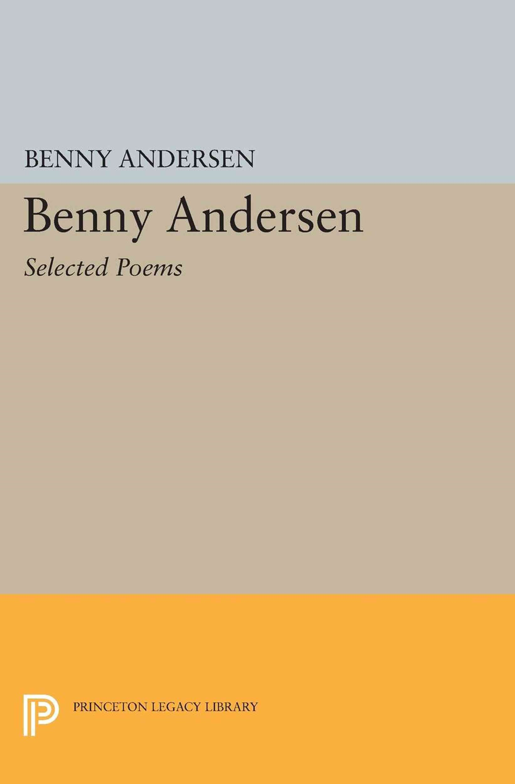 Benny Andersen: Selected Poems