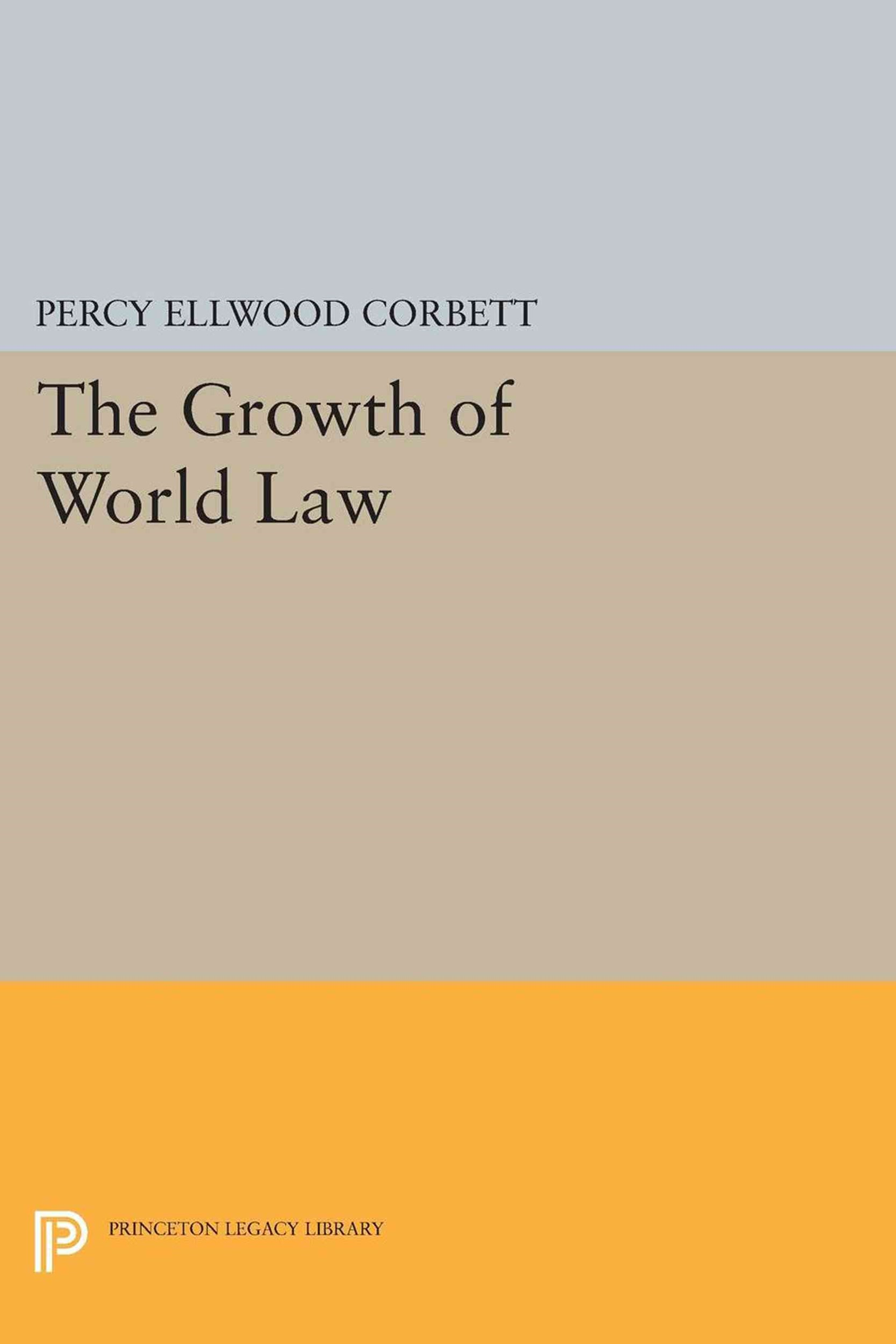 The Growth of World Law