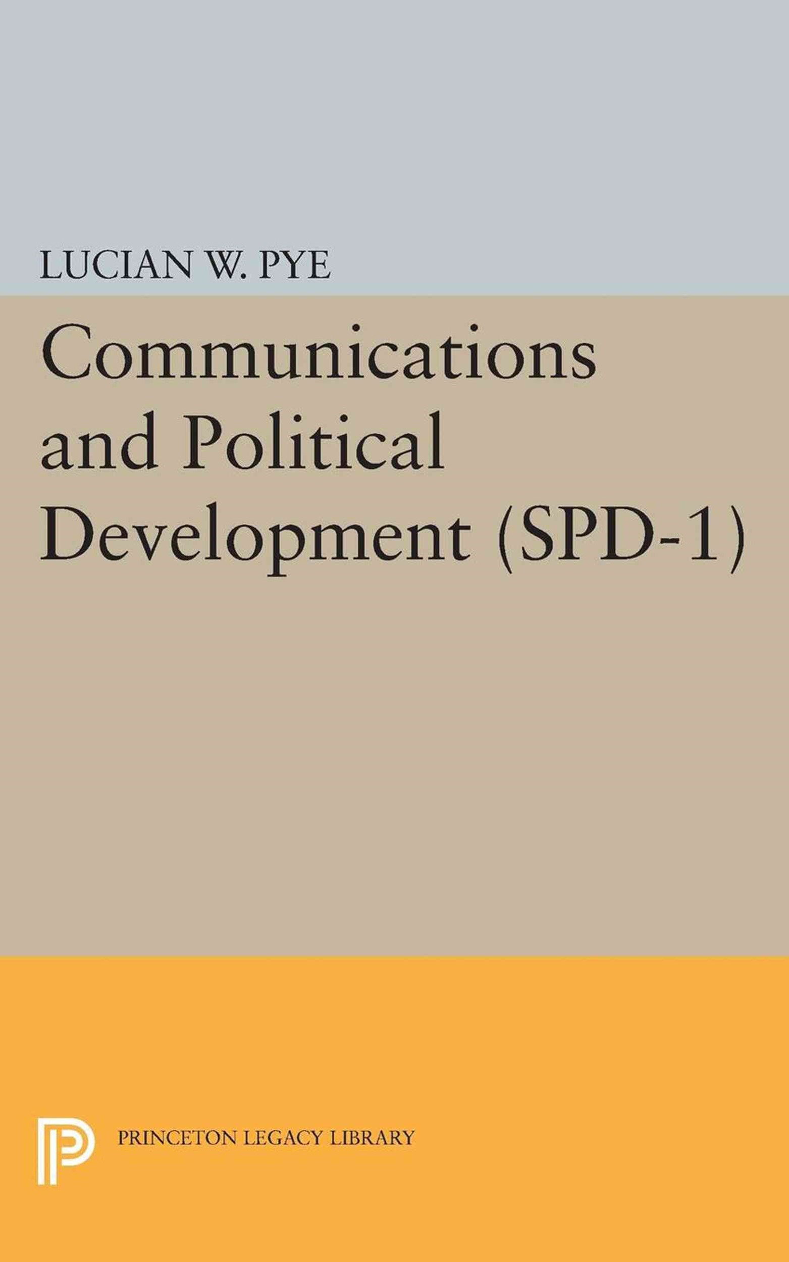 Communications and Political Development. (SPD-1)