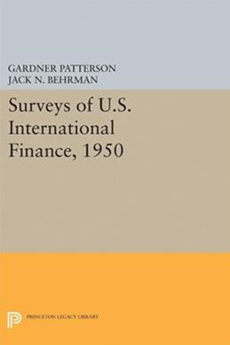 Surveys of U.S. International Finance, 1950