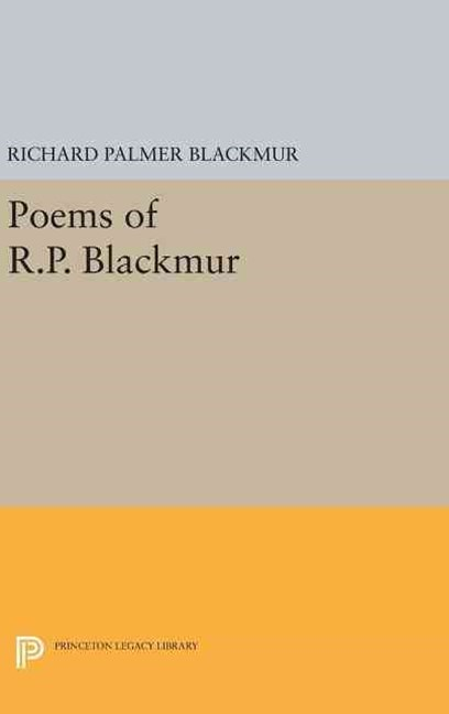 Poems of R. P. Blackmur