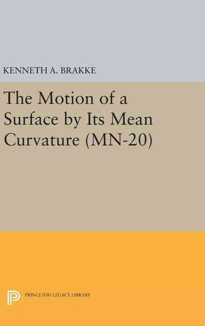 The Motion of a Surface by Its Mean Curvature. (MN-20):