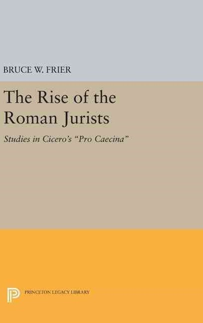 Rise of the Roman Jurists