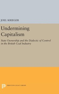 Undermining Capitalism by Professor Joel Krieger (9780691640884) - HardCover - Business & Finance Careers