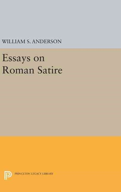Essays on Roman Satire