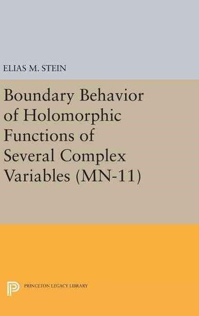 Boundary Behavior of Holomorphic Functions of Several Complex Variables. (MN-11):