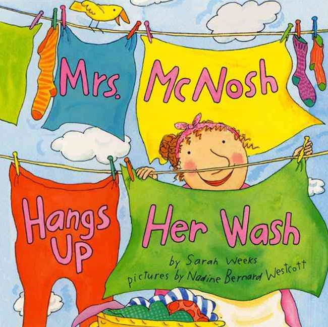 Mrs McNosh Hangs up Her Wash