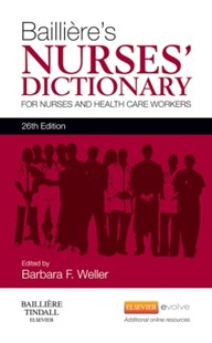 (ebook) Bailliere's Nurses' Dictionary - Reference Medicine