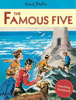 Famous Five Vintage Notebook
