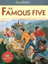 Famous Five Postcards