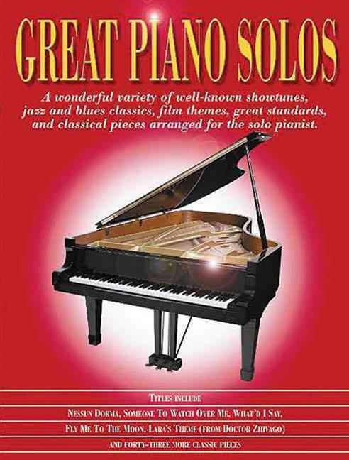 Great Piano Solos - the Red Book