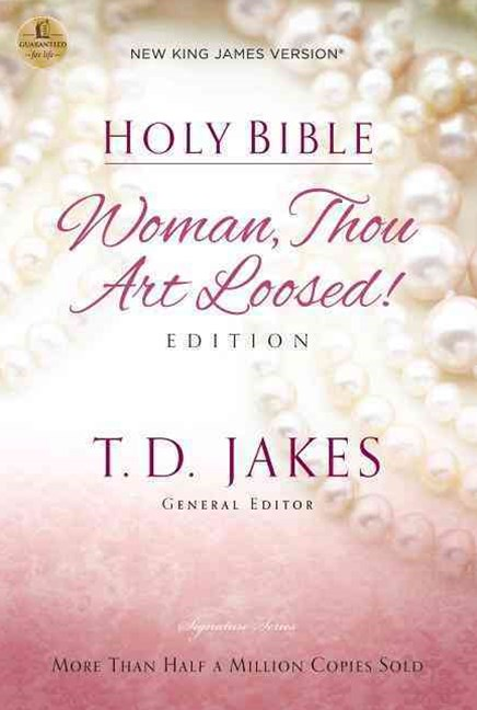 NKJV, Holy Bible, Woman Thou Art Loosed, Paperback, Red Letter Edition: Woman Thou Art Loosed