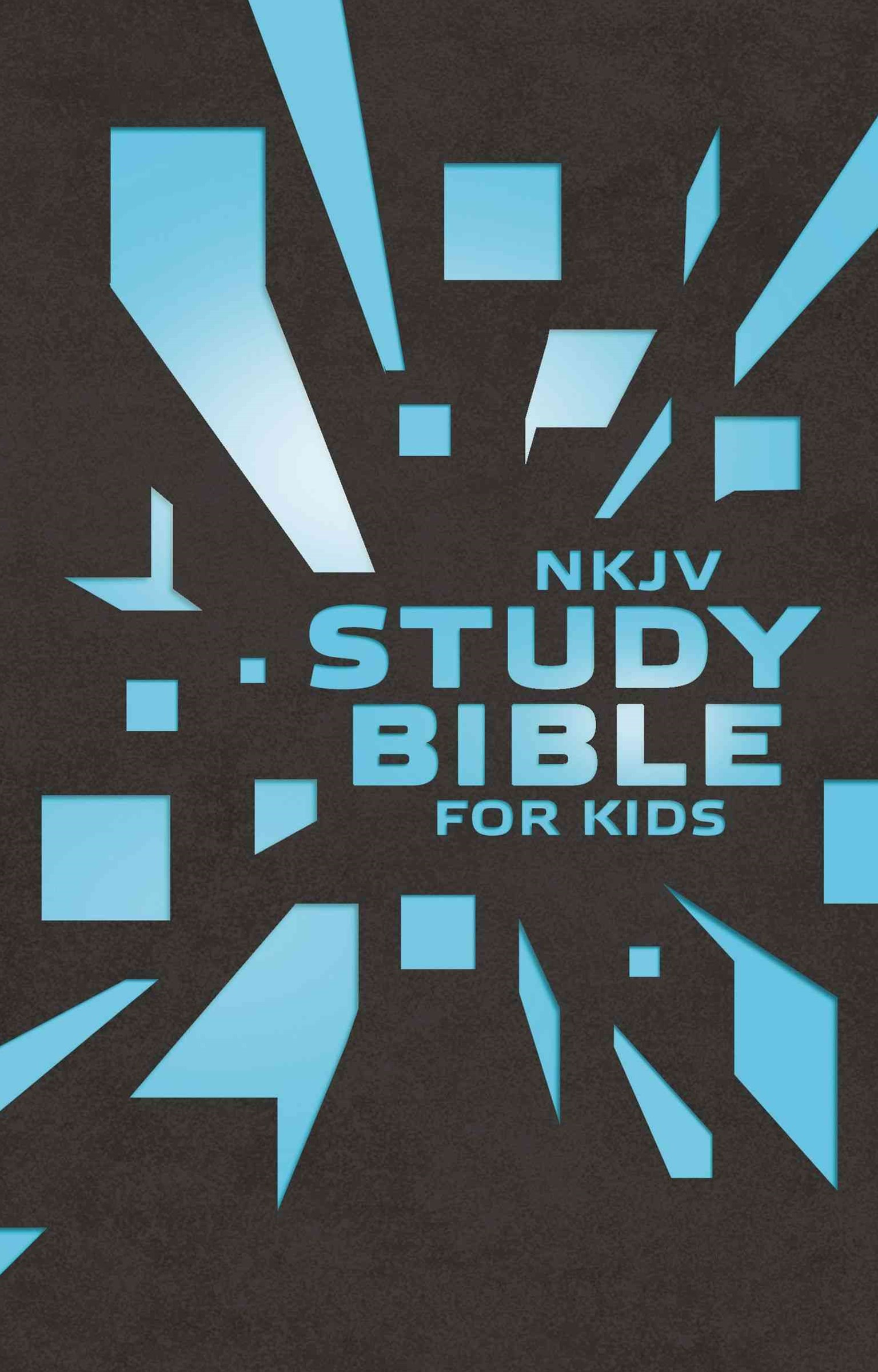 NKJV Kids Study Bible Brown Cover: The Premiere NKJV Study Bible for Kids