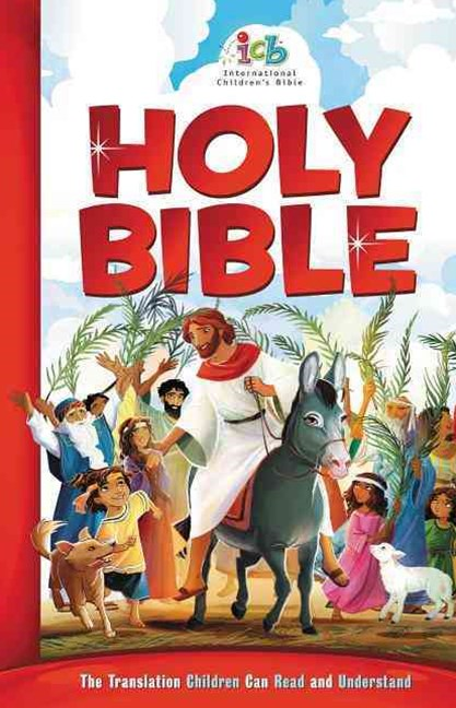 International Children's Bible: Big Red Cover