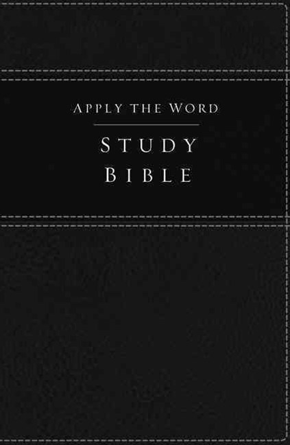 Apply the Word Study Bible [Black]