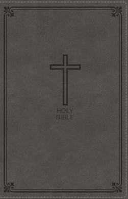 NKJV Deluxe Gift Bible Red Letter Edition [Grey]
