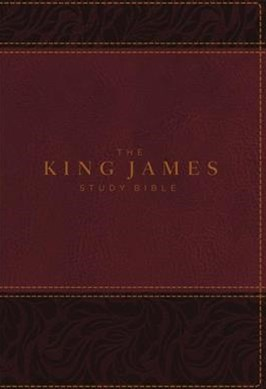The King James Study Bible, Full-Color Edition [Burgundy]
