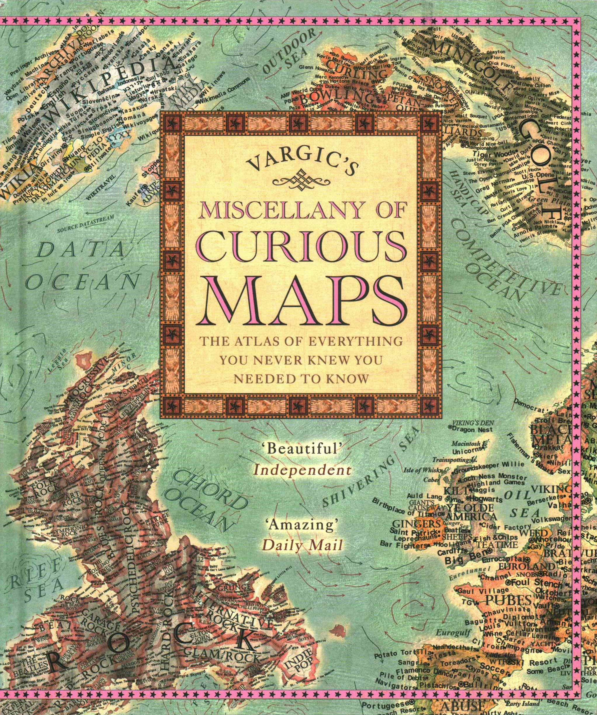 Vargic's Miscellany Of Curious MapsWorld