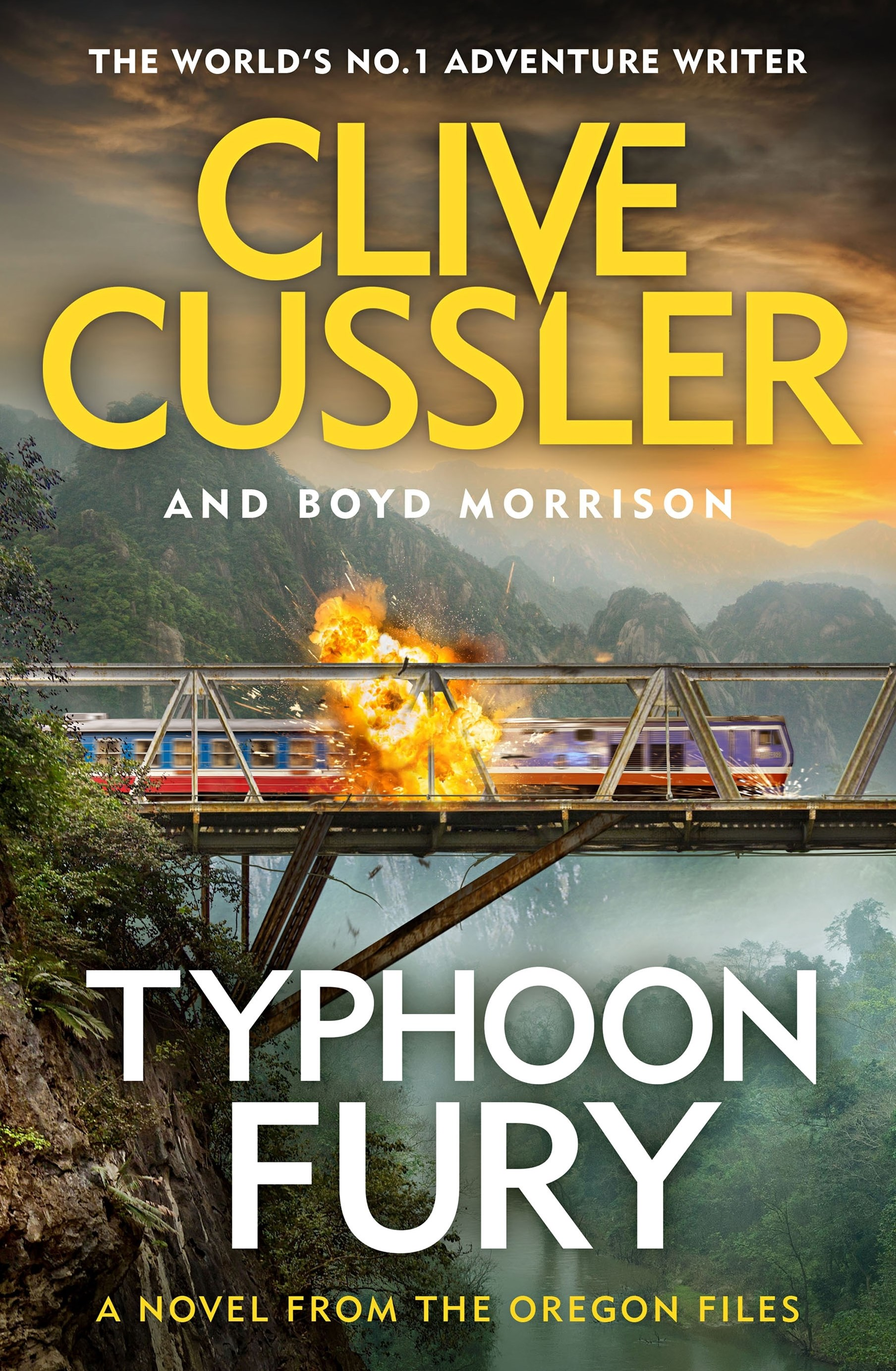 Typhoon Fury: Oregon Files #12