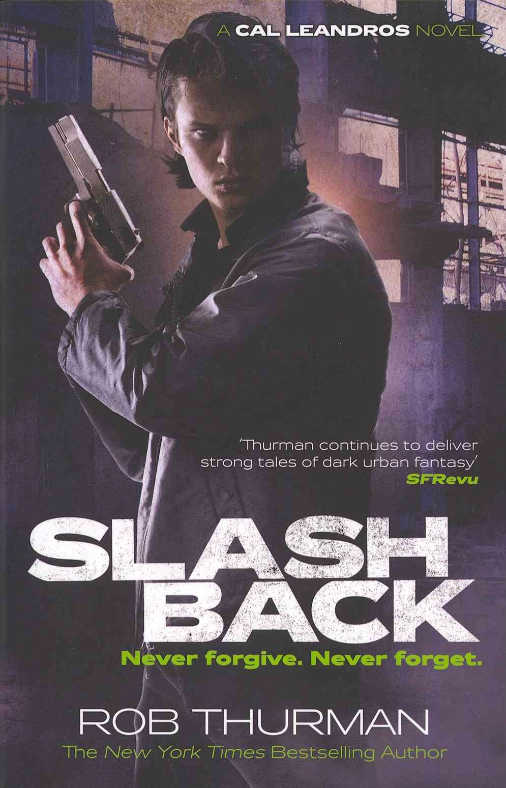 Slashback: A Cal Leandros Novel