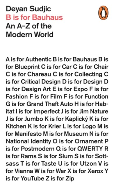 B is for Bauhaus