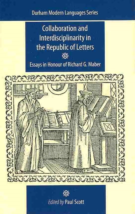 Collaboration and Interdisciplinarity in the Republic of Letters