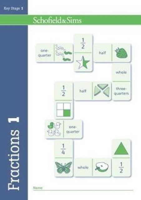 Fractions, Decimals and Percentages Book 1 (Year 1, Ages 5-6)