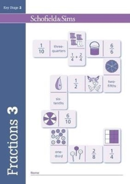 Fractions, Decimals and Percentages Book 3 (Year 3, Ages 7-8)