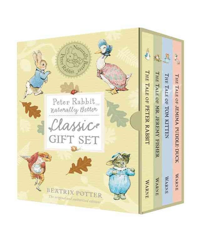 Peter Rabbit Naturally Better: Classic Gift Set