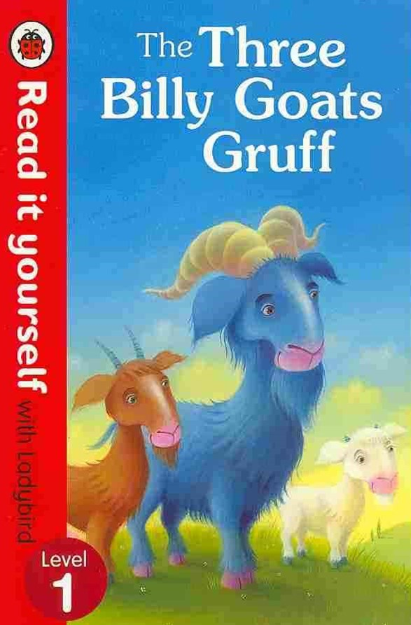 Read It Yourself With Ladybird: Level 1: The Three Billy Goats Gruff
