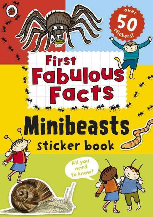 Ladybird First Fabulous Facts: Minibeasts Sticker Book