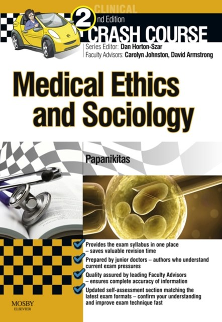 Crash Course Medical Ethics and Sociology Updated Edition - E-Book