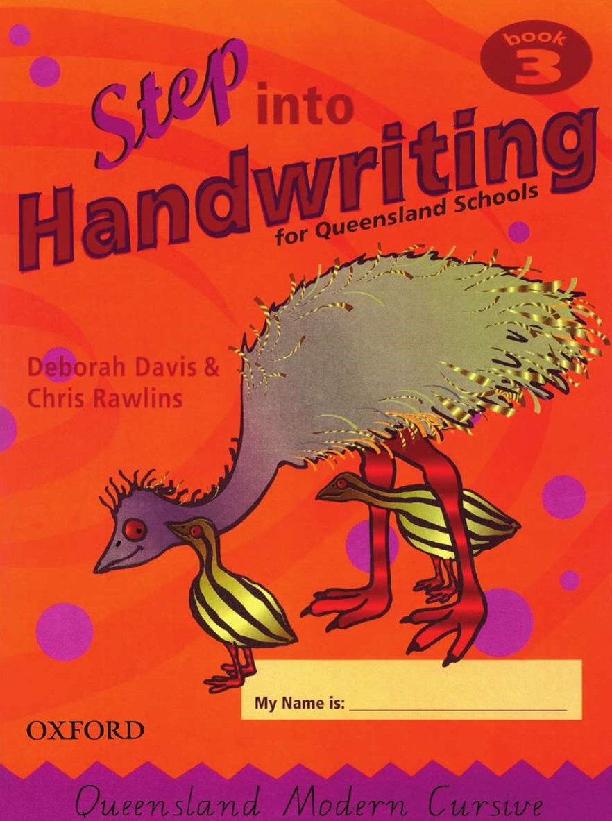 Step into Handwriting for Queensland Year 3