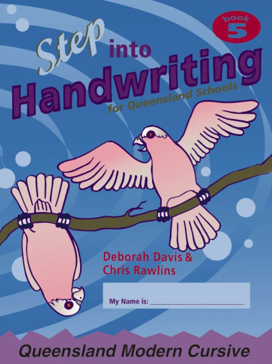 Step into Handwriting for Queensland Year 5