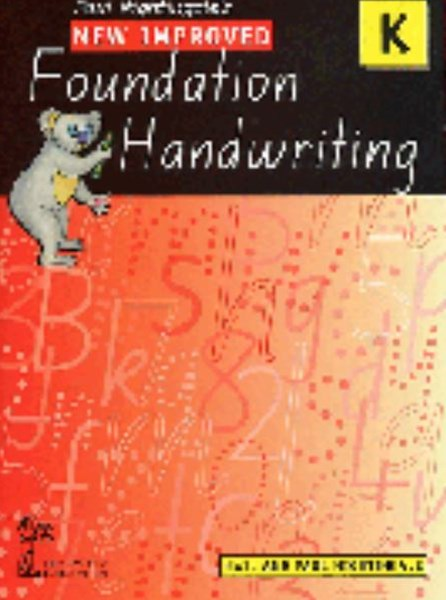New Improved Foundation Handwriting NSW Kinder