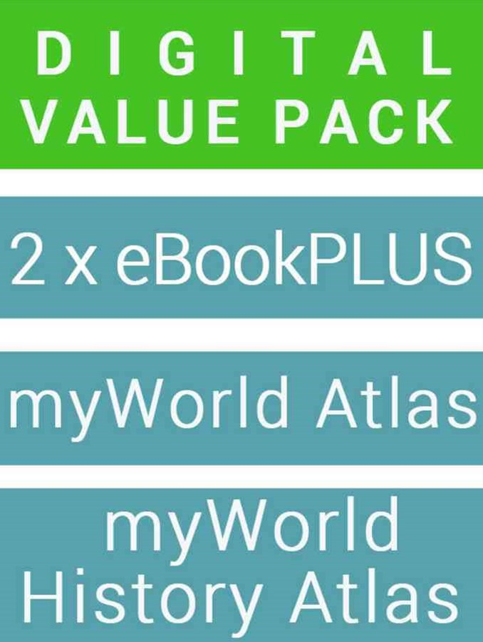 History Alive 9 for the Ac eBookPLUS + Geography Alive 9 for the Ac eBookPLUS + Myworld History Atlas + Myworld Atlas
