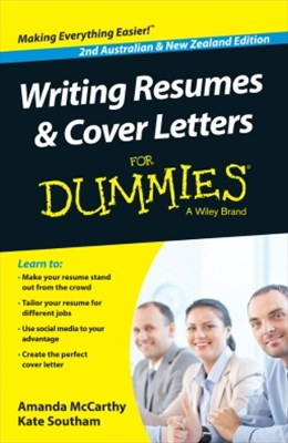 (ebook) Writing Resumes and Cover Letters For Dummies - Australia / NZ