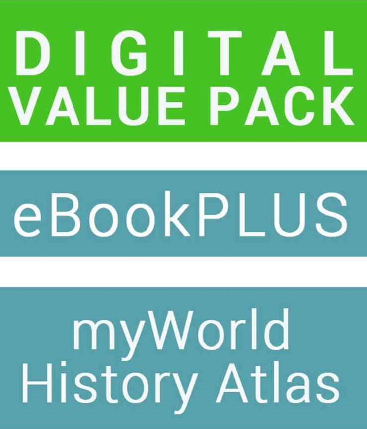 Geography Alive 10 for the Australian Curriculum eBookPLUS (Card) + Jacaranda Myworld History Atlas (Card)