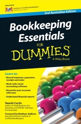 (ebook) Bookkeeping Essentials For Dummies - Australia