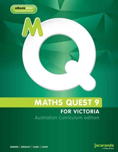 Maths Quest 9 for Victoria Australian Curriculum Edition & LearnON