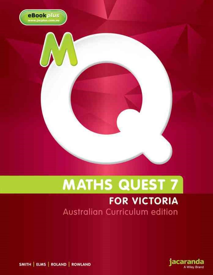 Maths Quest 7 for Victoria Australian Curriculum Edition & LearnON