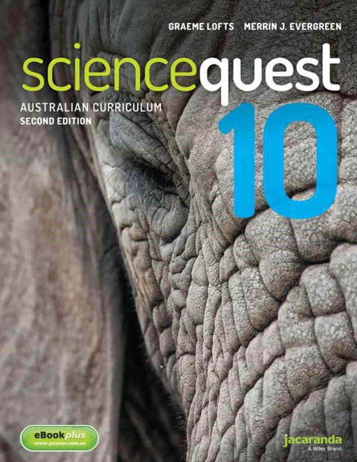 Science Quest 10 for the Australian Curriculum 2E & eBookPLUS