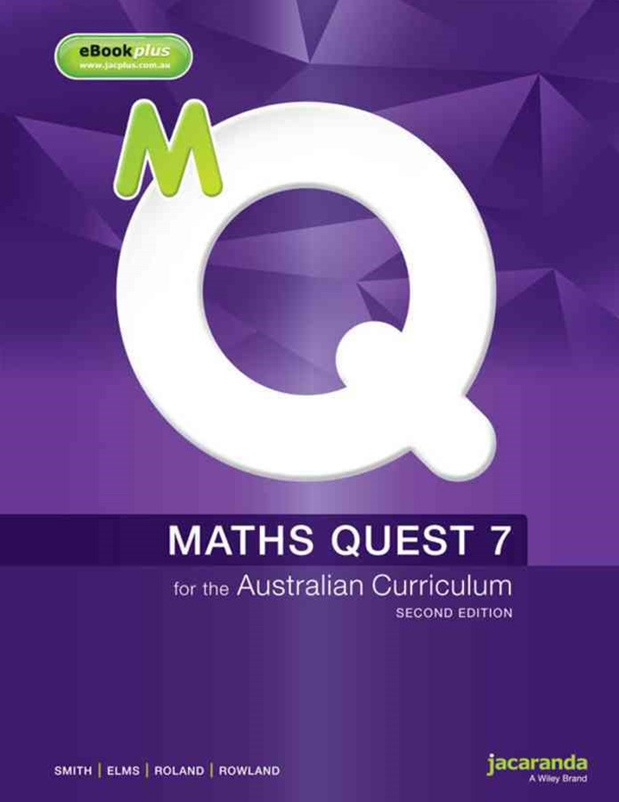 Maths Quest 7 for the Australian Curriculum 2E & eBookPLUS