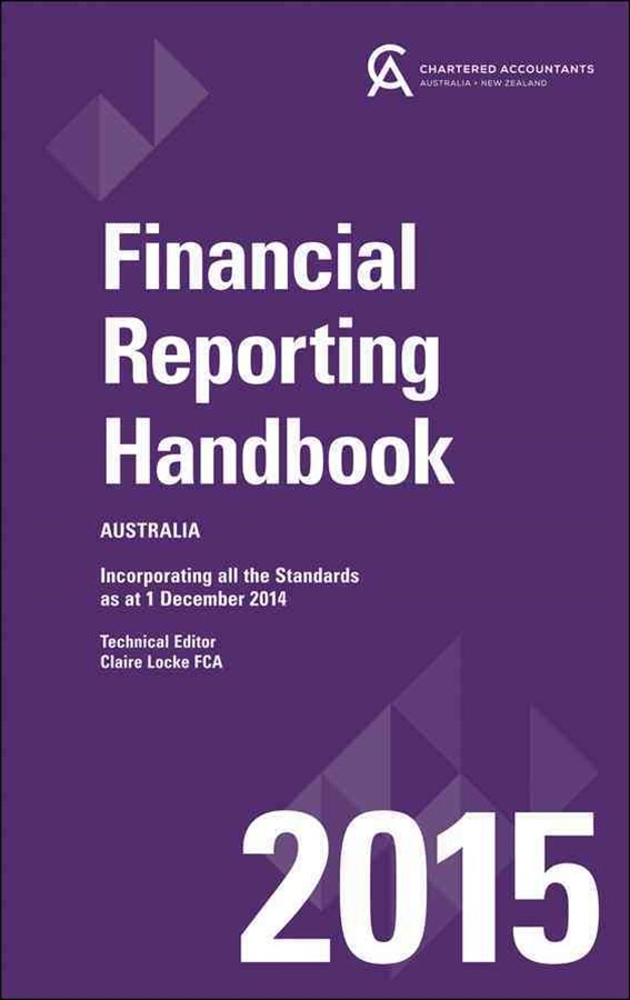 Financial Reporting Handbook 2015 Australia