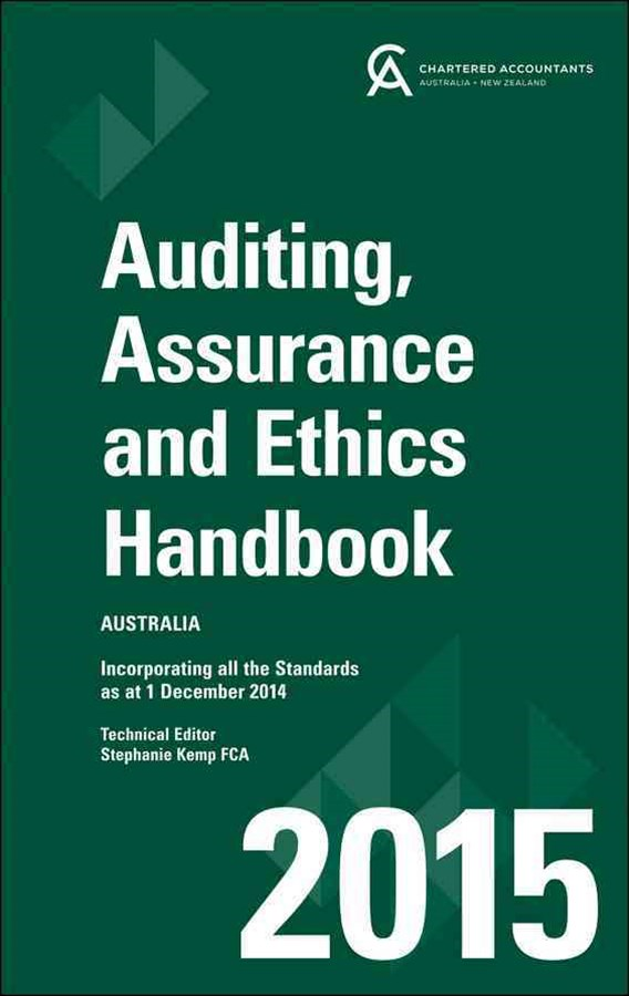 Auditing & Assurance Handbook 2015 Australia