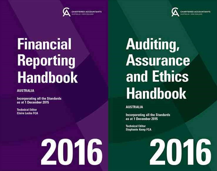Financial Reporting Handbook 2016 Australia+auditing, Assurance and Ethics Handbook 2016 Australia