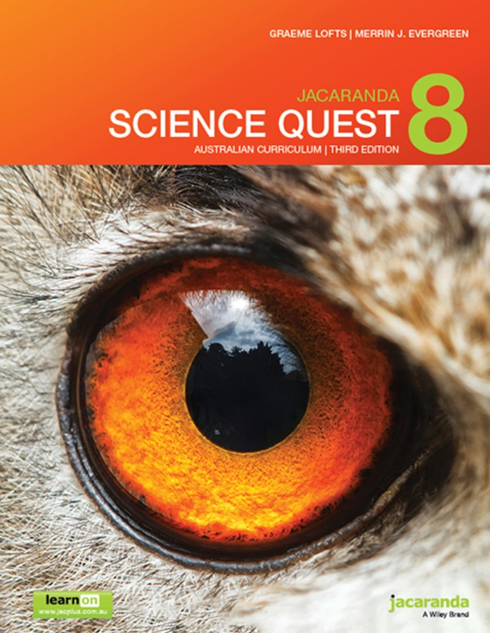 Jacaranda Science Quest 8 Australian Curriculum 3E LearnON & Print